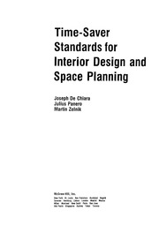 Time Saver Standards For Interior Design Free Download Borrow And Streaming Internet Archive