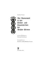 Trauner Karl J Grimmsche Märchen