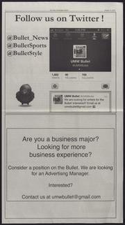 Vol 86, Iss. 14, 2013-01-31: Bullet (Fredericksburg, VA) (2013)
