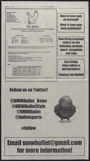 Vol 87, Iss. 18, 2014-02-27: Bullet (Fredericksburg, VA) (2014)