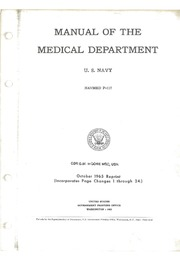 Us navy bureau of medicine and surgery office of medical history manual of the medical department us navy navmed p 117 october 1965 reprint incorporates page changes 1 through 24 fandeluxe Choice Image