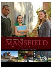 Undergraduate Catalog 2011-2012