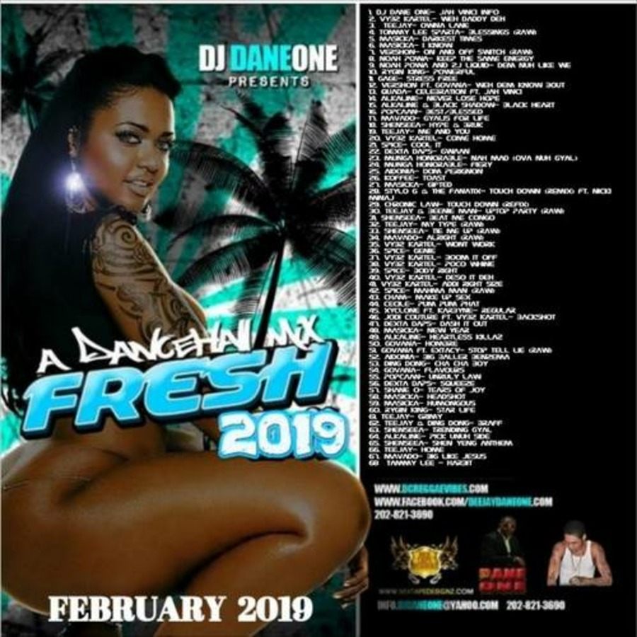 VA-DJ Dane One - A Fresh Dancehall Mix-2019 : Free Download