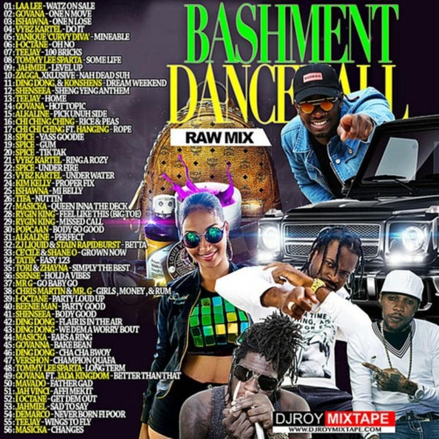VA-DJ Roy - Bashment Dancehall Mix-2018 : Free Download