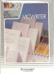 Commodore VIC-20 Manuals : Free Texts : Free Download