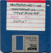 Various MS-DOS Programs (incl  DGKEY, HEPCATjr, Safe Format, and MSS