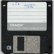 Various MS-DOS Programs (incl  System Information, Data Monitor, and