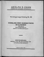 Versteigerungs-Katalog 60