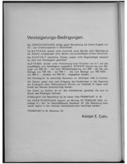 Sammlung Schlesischer Muenzen und Medaillen des Herrn Fritz Lueffler Breslau