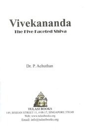 Vivekananda The Five Faceted Shiva Dr. Achutan