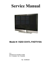 Service manual vizio gv47l fhdtv10a lcd tv free download borrow service manual vizio gv47l fhdtv10a lcd tv free download borrow and streaming internet archive fandeluxe Images