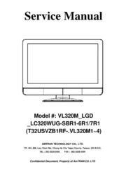 service manual vizio vl320m lgd lc320wug sbr1 6r1 7r1 free rh archive org Vizio TV Vizio VL320M Manual