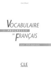 Vocabulaire Progressif Du Francais Debutant Livre