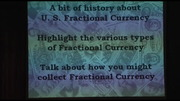 Collecting Fractional Currency
