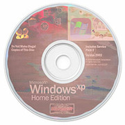 Windows XP Home Edition with Service Pack 2 x86 : Microsoft : Free