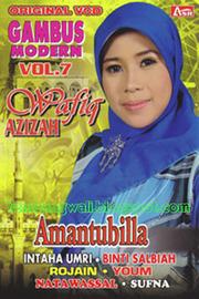<b>Wafiq Azizah</b> Gambus Modern Vol. 7 ( Amantubilla) - WafiqAzizahGambusModernVol