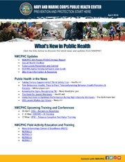 Whats New In Public Health April 2016