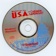 Where In The Usa Is Carmen Sandiego Broderbund 1996 Free Download Borrow And Streaming Internet Archive
