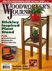 Woodworkers Journal December 2015 Free Download Borrow And