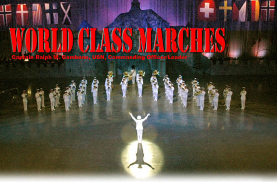 World Class Marches : United States Navy Band : Free