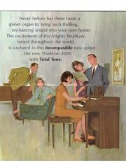 User account wurlitzer model 4300 organ brochure fandeluxe Choice Image