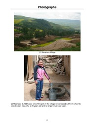 Xiarahura Tibetan Village Water System Project