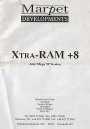 Xtra RAM  8 Atari Mega ST Vesrion 1993