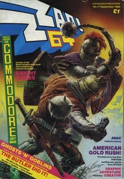 ZZap 64 Issue 017 1986 Sep