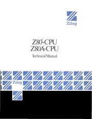 Zilog Z-80 CPU Technical Manual