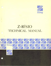 Zilog Z80-SIO Technical Manual : Free Download, Borrow, and