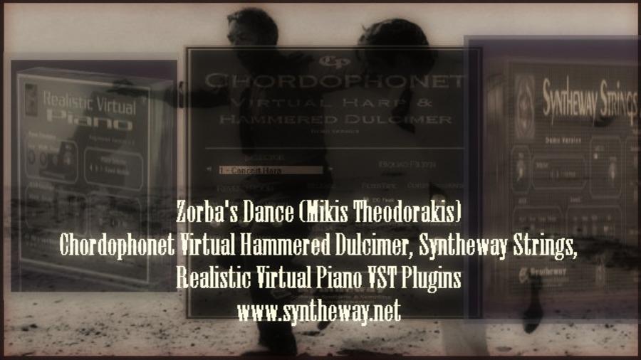 Zorba's Dance (Mikis Theodorakis) Chordophonet Virtual
