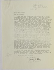 Stanley H. Abrons Correspondence File, 1961