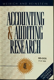 edp auditing I introduction 6 2 aims of the reference list 7 3 the area of performance auditing of the use of edp 8 4 the structure of the report 10 5 the articles 12.