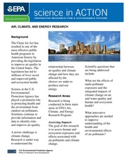 Air, climate and energy research