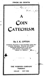A Coin Catechism