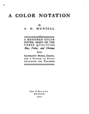 A Color Notation : Albert Henry Munsell : Free Download, Borrow, and Streaming