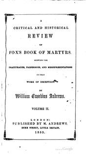 fox books of martyrs pdf