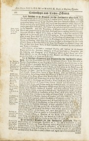 Acts and Laws, of His Majesty's Province of the Massachusetts-Bay in New-England