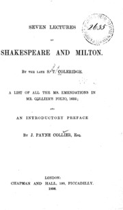 milton shelley and coleridge essay Mary shelley: the expert view charles lamb and coleridge and linking her ideas to milton's paradise lost and to genesis.