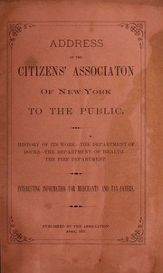 Address of the Citizens' As...