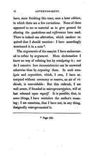 A dissertation on miracles edinburgh 1762