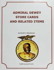 Admiral Dewey Store Cards and Related Items, Vol. 49, No. 4(2)