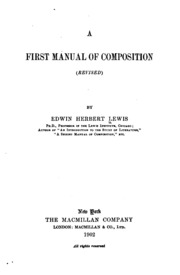 an essay on punctuation francis francillon  a first manual of composition