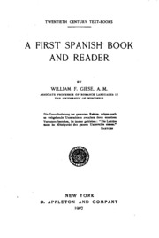 A first Spanish book and reader : William F. Giese : Free ... - photo#24