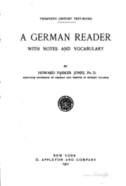 A German Reader: With Notes and Vocabulary