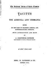 The Life and Works of Cornelius Tacitus Essay