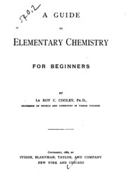 chemistry for beginners book pdf