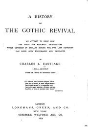 essay gothic history in revival taste