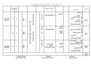 توزيع مناهج اللغة العربية للمراحل الإعدادية 2014