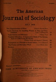 american journal of sociology 2013 Established in 1895 as the first us scholarly journal in its field, the american j   american journal of sociology homepage  2 september 2013 pp 307-596.
